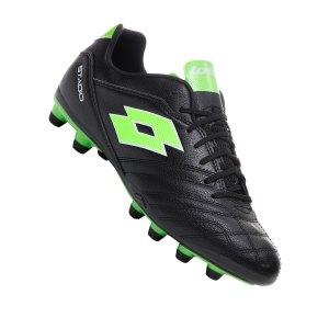 lotto-stadio-300-ii-fg-schwarz-gruen-f1ni-fussballschuhe-stollen-football-boots-l57748.png
