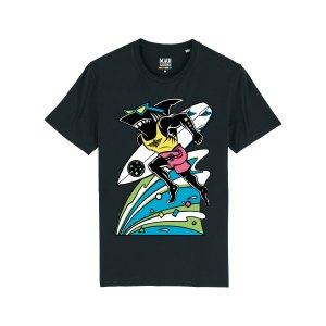 maui-and-sons-hai-t-shirt-schwarz-massttu755-lifestyle_front.png
