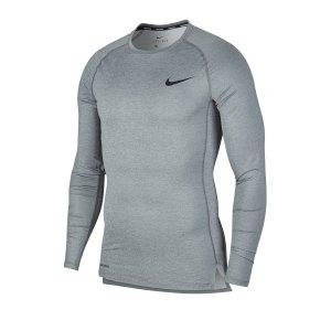 nike-pro-langarmshirt-grau-f068-underwear-langarm-bv5588.png