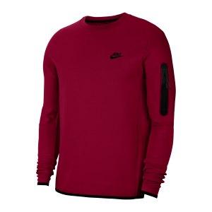 nike-tech-fleece-crew-sweatshirt-rot-schwarz-f677-cu4505-lifestyle_front.png