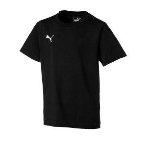 puma-liga-casuals-tee-t-shirt-kids-schwarz-f03-sport-training-laufen-joggen-fitness-655634.png