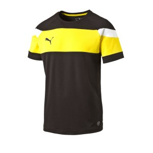 puma-spirit-ii-trainingsshirt-kids-schwarz-gelb-fussball-teamsport-textil-t-shirts-654655.png