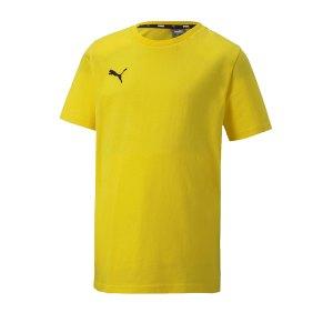 puma-teamgoal-23-casuals-tee-t-shirt-kids-gelb-f07-fussball-teamsport-textil-t-shirts-656709.png