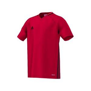 adidas-condivo-16-trainingsshirt-kids-kinder-children-oberteil-kurzarm-verein-sportbekleidung-rot-s93537.png