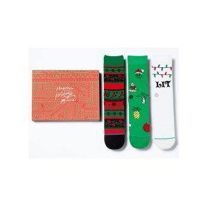 stance-ornaments-3er-pack-socken-gruen-weiss-rot-stance-socken-ud19pkhol.png