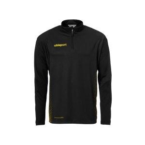 uhlsport-score-ziptop-sweatshirt-schwarz-gelb-f07-teamsport-mannschaft-oberteil-top-bekleidung-textil-sport-1002146.png