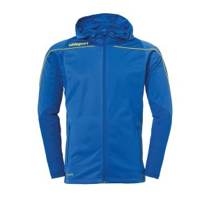 uhlsport-stream-22-kapuzenjacke-blau-gelb-f14-fussball-teamsport-textil-jacken-1005189.png