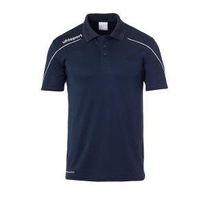 uhlsport-stream-22-poloshirt-blau-weiss-f12-fussball-teamsport-textil-poloshirts-1002204.png
