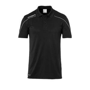 uhlsport-stream-22-poloshirt-schwarz-weiss-f01-fussball-teamsport-textil-poloshirts-1002204.png