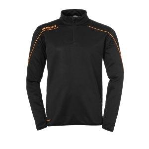 uhlsport-stream-22-ziptop-kids-schwarz-orange-f22-fussball-teamsport-textil-sweatshirts-1002203.png