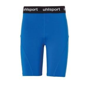 uhlsport-tight-short-hose-kurz-kids-blau-f03-1002207-underwear.png