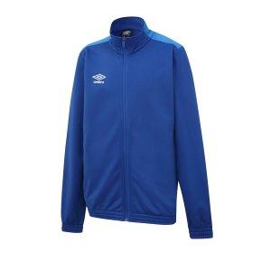 umbro-training-knitted-jacket-jacke-kids-blau-fevc-fussball-teamsport-textil-jacken-64526u.png