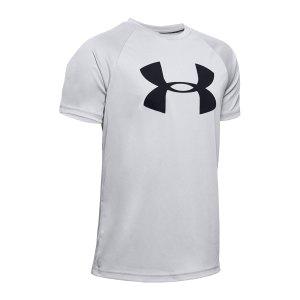 under-armour-tech-big-logo-t-shirt-kids-grau-f012-1351850-fussballtextilien_front.png