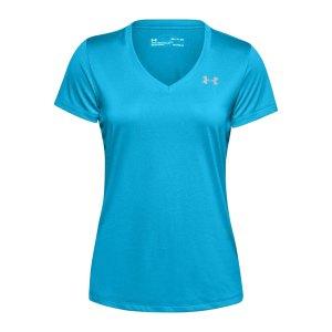 under-armour-tech-v-neck-t-shirt-damen-blau-f417-1255839-laufbekleidung_front.png