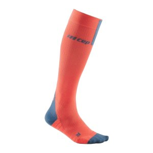 cep-compression-3-0-socken-running-damen-orange-wp40x-laufbekleidung_front.png