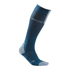 cep-compression-3-0-socken-running-blau-grau-wp50x-laufbekleidung_front.png