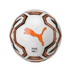 PUMA Pro Futsalball Weiss Orange F01