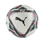 PUMA teamFINAL 21.1. FIFA Spielball Gr.5 Weiss F01