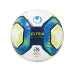 Uhlsport Elysia Ballon Officiel Fussbal 19 Weiss Blau F01