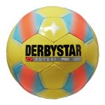 Derbystar Trainingsball Futsal Pro Light Gelb