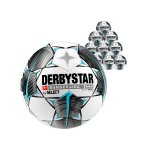 Derbystar Bundesliga Bril. Replica Light 10x Gr.4 Weiss F019
