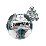 Derbystar Bundesliga Brillant Replica S-Light 290gFussball Weiss F019