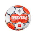 Derbystar Bundesliga Brillant Replica v21 Trainingsball 2021/2022 Orange Blau Weiss F021