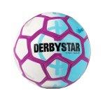 Derbystar Street Soccer Fussball Weiss Blau F169