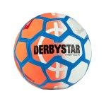 Derbystar Street Soccer Fussball Orange Weiss F716