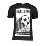 DFB Deutschland Teamgeist T-Shirt Schwarz