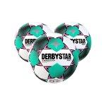 Derbystar Bundesliga Brillant APS Spielball Weiss F020