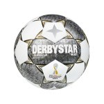 Derbystar Bundesliga Brillant APS v21 Spielball 2021/2022 Orange Blau Weiss F021