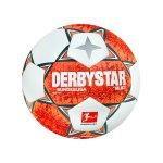 Derbystar Bundesliga Magic APS v21 Spielball 2021/2022 Orange Grau Weiss F021