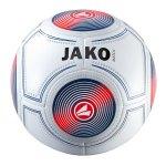 Jako Trainingsball Match Weiss Blau Gelb F17