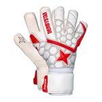 Derbystar APS Star II TW-Handschuh Weiss Rot F000