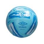 Umbro FC Schalke 04 Neo Swerve Fan-Ball Weiss F7AV