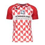 Kappa 1. FSV Mainz 05 Trikot Home 2021/2022 Kids Rot
