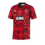 PUMA City Influence Amsterdam T-Shirt Rot F01