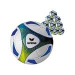 Erima Trainingsball Hybrid Blau Gelb