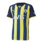 PUMA Fenerbahçe Istanbul Trikot Away Kids 2021/2022 Weiss F02
