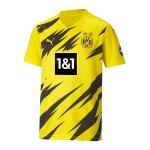 PUMA BVB Dortmund Trikot Home 2020/2021 Kids Gelb F01