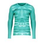 Nike Promo GK-Jersey LS Schwarz Weiss F010
