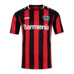 JAKO Bayer 04 Leverkusen Trikot Home 2021/2022 Kids Schwarz Rot F681