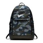 Nike Brasilia XL All Over Print Backpack Grau F021