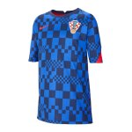 Nike Kroatien Trainingstop kurzarm Kids Blau F452