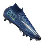 Nike Mercurial Superfly VII DS Elite SG-Pro Blau F401