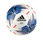adidas Team Competition Trainingsball Weiss Blau