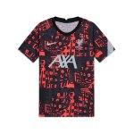 Nike FC Liverpool Prematch Shirt Schwarz F010
