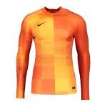 Nike Promo TW-Trikot langarm Orange F819