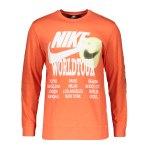Nike World Tour Sweatshirt Schwarz F010
